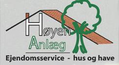 Høyen Anlæg og Ejendomsservice logo